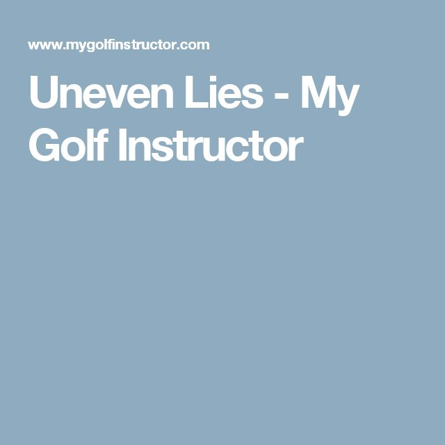 Best 25+ Golf instructors ideas on Pinterest Golf tips, Golf