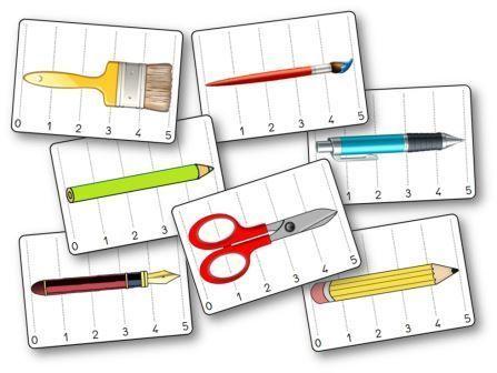 Bataille de longueurs Les outils de la classe, bataille longueurs