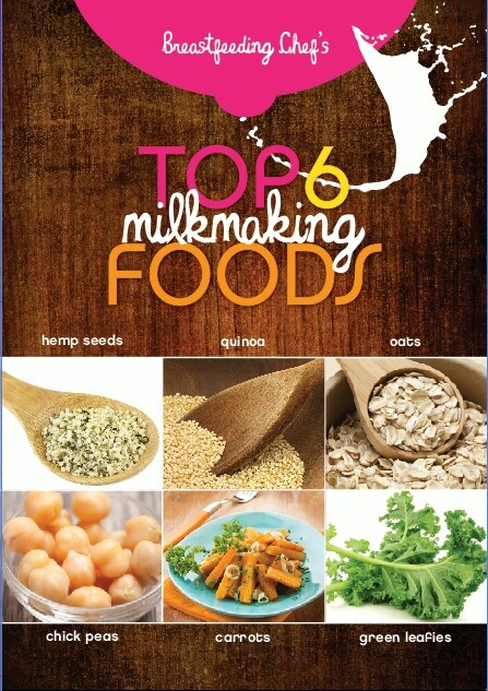 Foods to increase milk supply