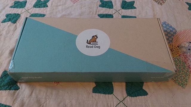 Super excited to see what Read Dog sent me in their Winter Night Sky Box!