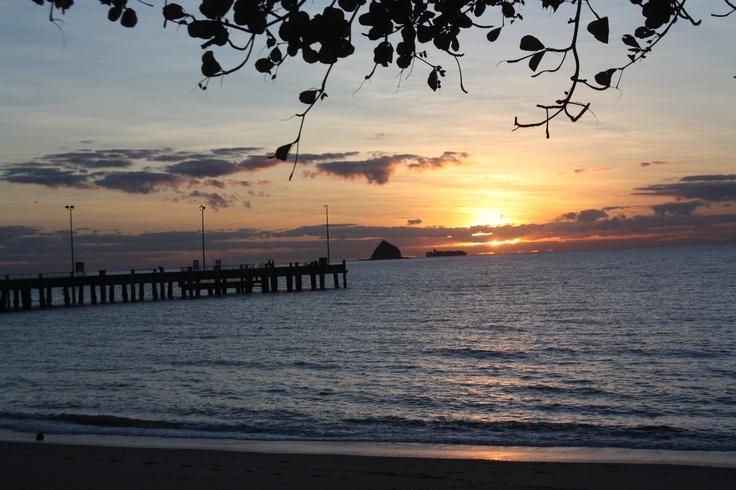 Sunrise in Palm Cove - North Queensland - Australia