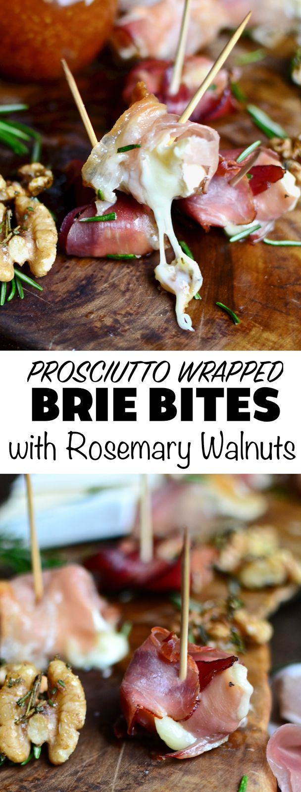These brie bites make the perfect gourmet appetizers! They're naturally gluten free and exploding with flavor. I dipped mine in gooseberry ginger jam!