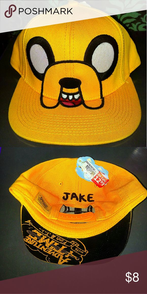 Jake hat Adventure Time Jake the dog, flat bill hat. Never worn. Ask me to bundle! Cartoon Network CN  Accessories Hats