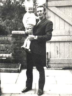 Peter Lambert and his daughter