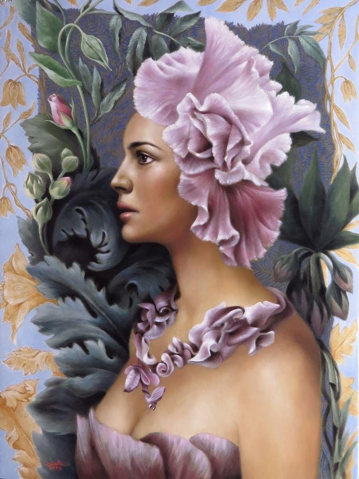 Image result for finger paintings by iris scott