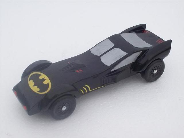 Batman Car Race Bat In The Sun