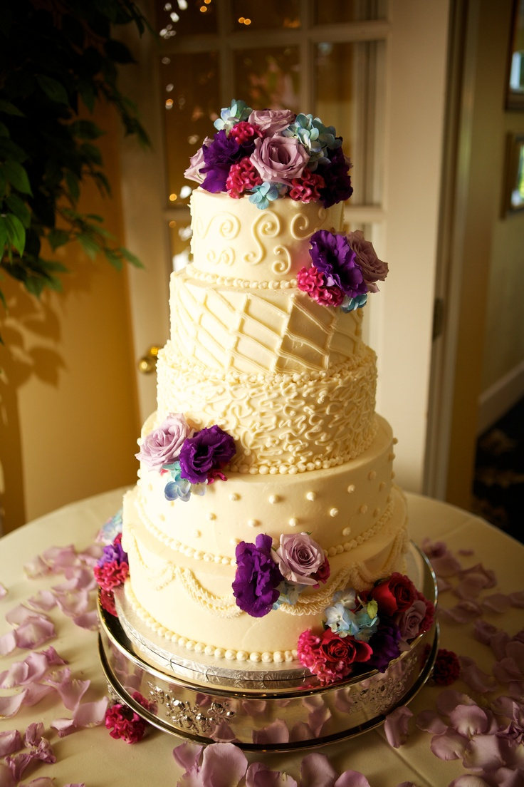 Art Wedding Cake