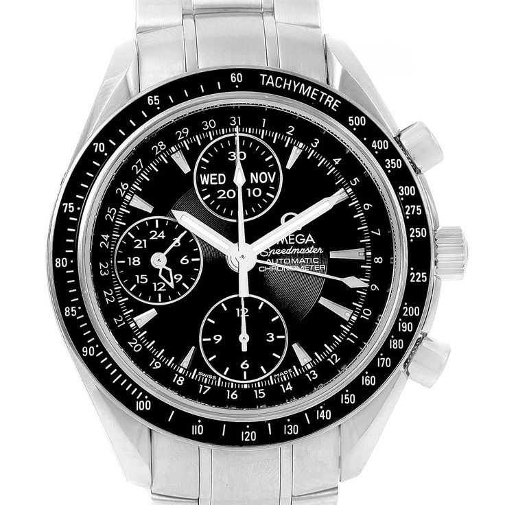Omega Speedmaster Day Date 40mm Chronograph Mens Watch 3220.50.00