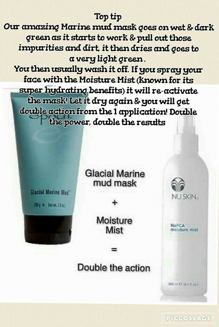 Glacial marine mud mask & moisture mist  Use in combination for twice the benefit  Message me for bank holiday offer