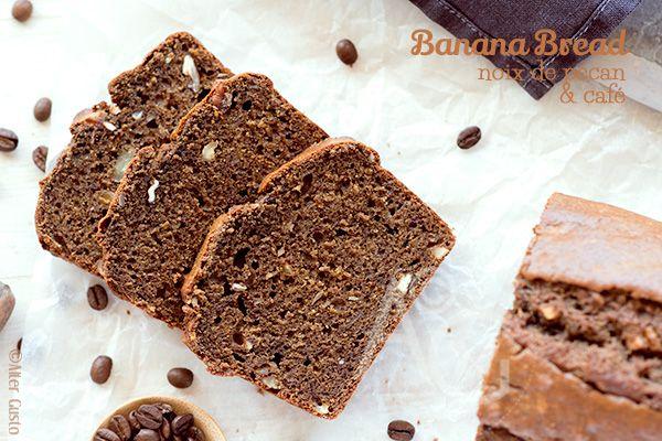Alter Gusto   Banana Bread – Cake à la banane, noix de pécan & café -