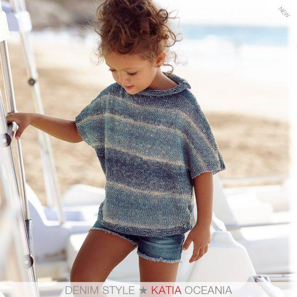 Estos son los 7 patrones de punto para niñas más fáciles de tejer de Katia Niños 81   http://www.katia.com/blog/es/patrones-de-punto-para-ninas/
