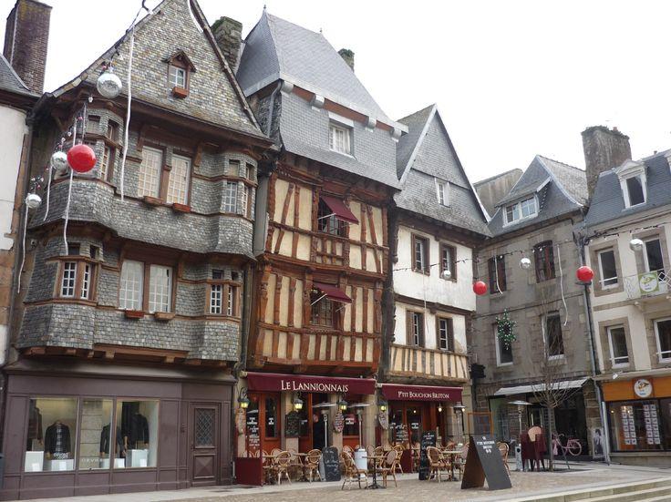 Lannion, France   place du centre a lannion