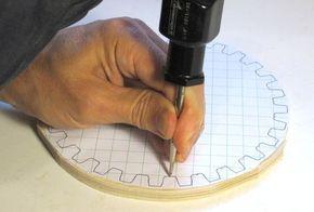 Como hacer engranajes de madera                                                                                                                                                                                 Más