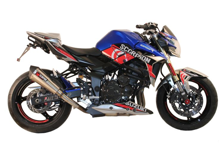 gsr 750 scorpion serie sp 233 ciale gsr750 scorpion une cr 233 ation s2 concept pi 232 ces et kit d 233 co
