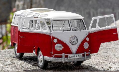 Revell - 7399 - Maquette voiture - VW T1 Samba Bus - Echelle 1/24