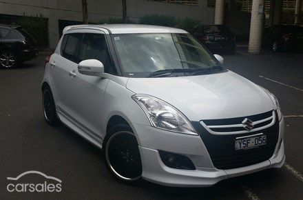 2012 Suzuki Swift GLX Auto