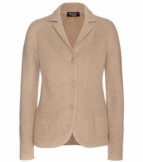 Mirabel knitted cashmere blazer   Loro Piana