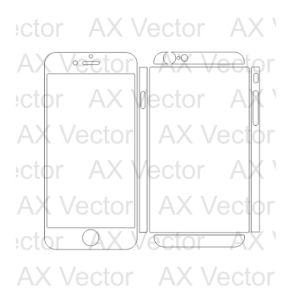 iPhone 6 Vector Template