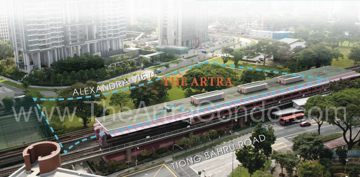 Artra Condo, one of the most exclusive apartments in Singapore, located near the Artra Redhill MRT Station. #ArtraSingapore