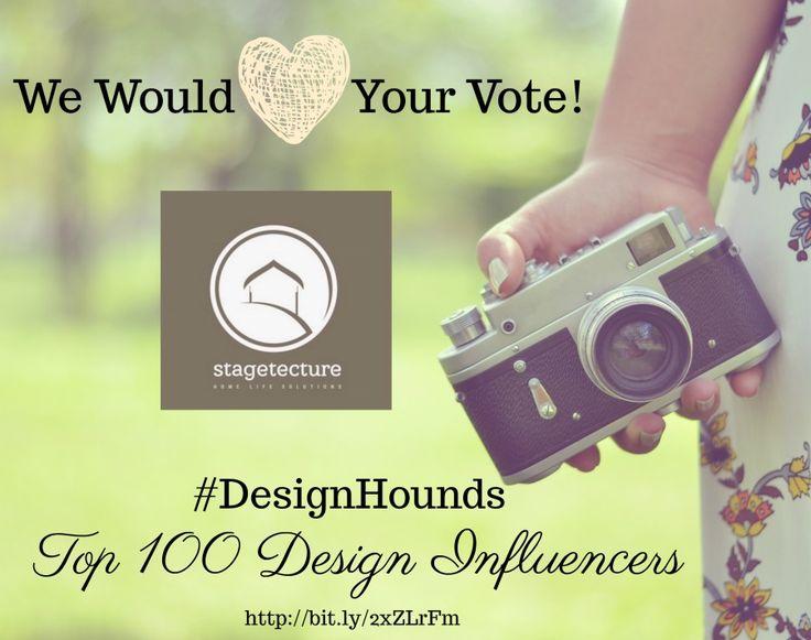 Vote for Stagetecture DesignHounds Top 100 Design
