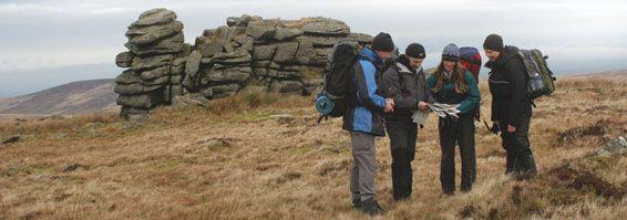 Photo of Backpackers on Dartmoor