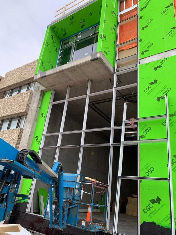 Curtain Wall Installations Quality Curtain Wall Manufacturers In Calgary Wall Installation Commercial Windows Window Company