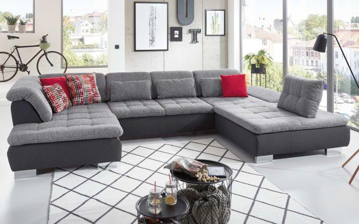 Wohnlandschaft Canto In Grau Neue Wohnung Pinterest