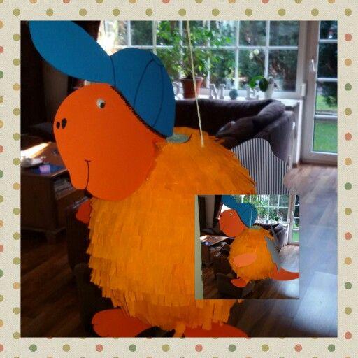 """Piñata """"Der kleine Drache Kokosnuss"""""""