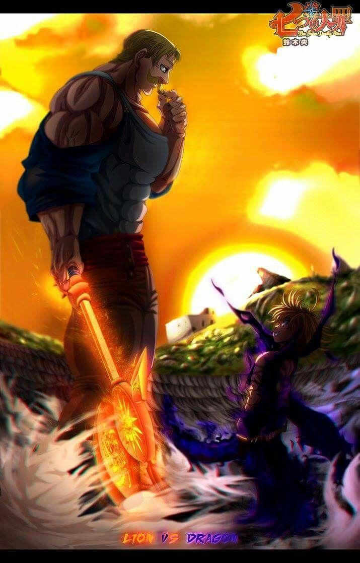 Ira VS Orgulho Seven deadly sins anime, Anime heaven