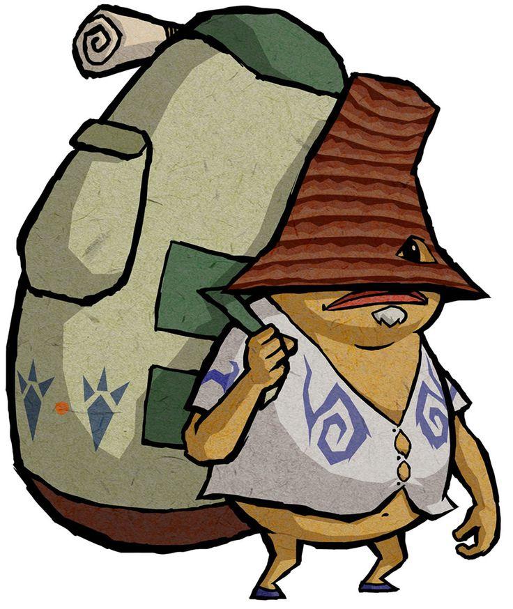 Traveling Merchant - Characters & Art - The Legend of Zelda: The Wind Waker HD