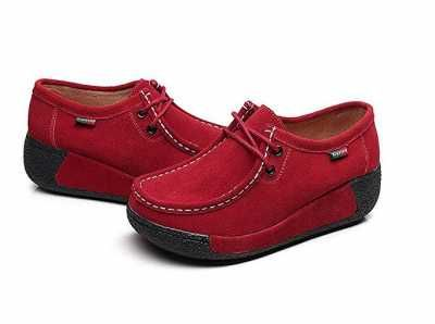 Zapatos Formal para mujer en Plataforma Ofertas especiales y promociones  Caracteristicas Del Producto; Material exterior: Gamuza Revestimiento: cuero