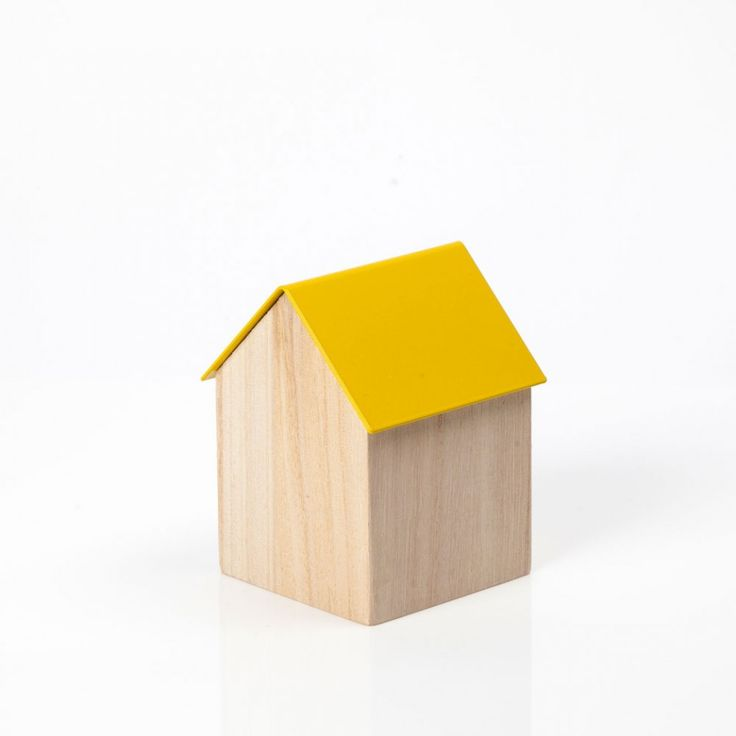 Block Design small yellow storage house
