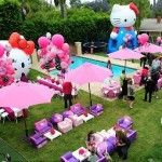 frases para convites e lembrancinhas: Birthday Bash, Party'S, Birthday Parties, Hello Kitty Birthday, Kitty Party, Parties Ideas, Hellokittybirthday, Hellokitti, Hello Kitty Parties