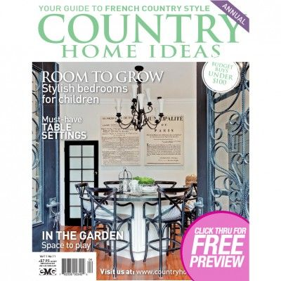Country Home Ideas - Volume11 No.11 (Just $1.95). Find out more at: http://www.patchworkandcraft.com.au/digital-magazines/chi-11-11.html