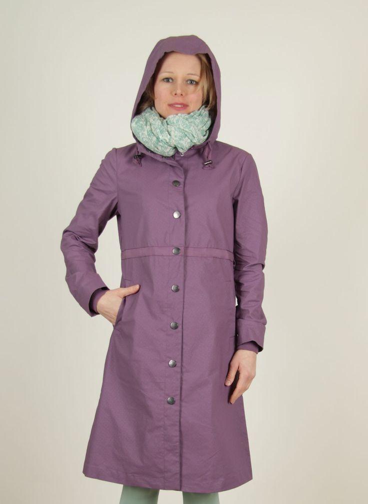 Noa Noa - Frühling - Regenmantel, Bella Rain, light-purple - ey Linda Online Shop
