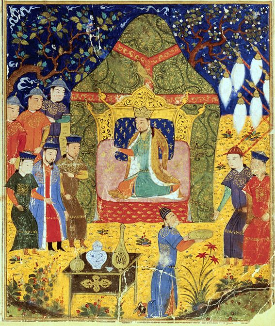14th-century Persian manuscript