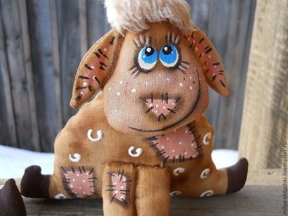 Новогодние овечки - новый год,овечка,подарок на новый год,ароматизированная игрушка