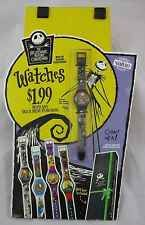 Vintage 1993 Burger King The Nightmare Before Christmas Watch Promo Display RARE