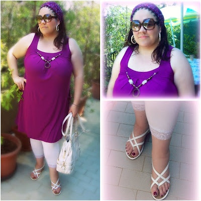124 best my style plus size images on pinterest leggings big sizes and plus size - La diva delle curve ...