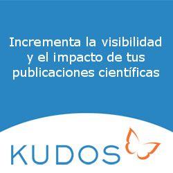 Incrementa la visibilidad e impacto de tus publicaciones científicas con Kudos. #Kudos #VisibilidadCientífica #ImpactoCientífico #Altmetrics
