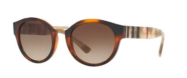 Burberry BE4227 360113 | Round sunglasses, Burberry, Sunglasses