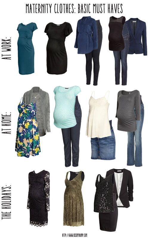 Maternity Clothes: Basic Must Haves || Kiss My Bump