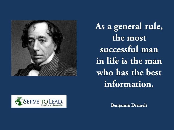 Benjamin Disraeli Success and Best Information