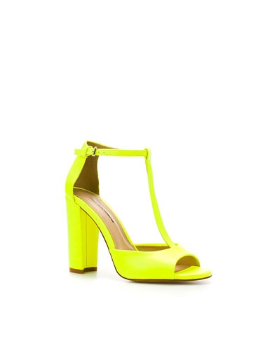 Neon sandal that's actually affordable, but sold out in my size.