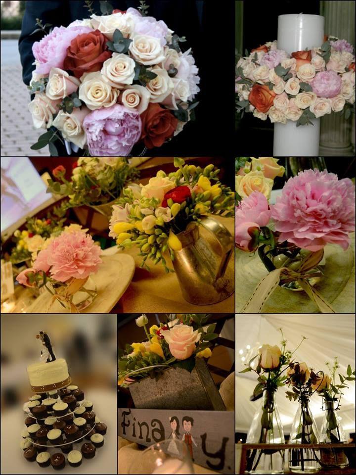 Spring Wedding Flowers | Ανοιξιάτικος Γάμος #λαμπάδεςγάμου #ανθοδέσμηγάμου #bridalbouquet #peonies #cupcakeswedding