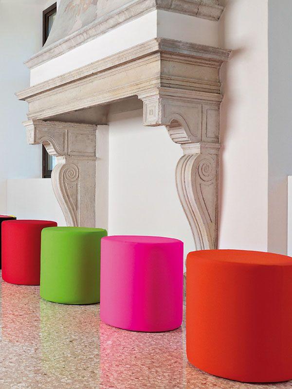 Fodera Pouf Lycra 100% Vari Colori Creativando | Coquelicot Design