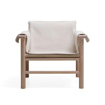 Hanna lenestol textil, eik/sand – Ire – Köp online på Rum21.se