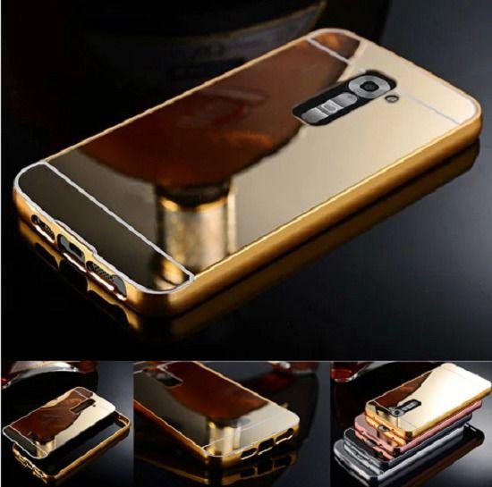 Mirror Bumper Aluminum Case For LG G3 G4 G2 Phone Cover Skin Shell PAPC203 #UnbrandedGeneric