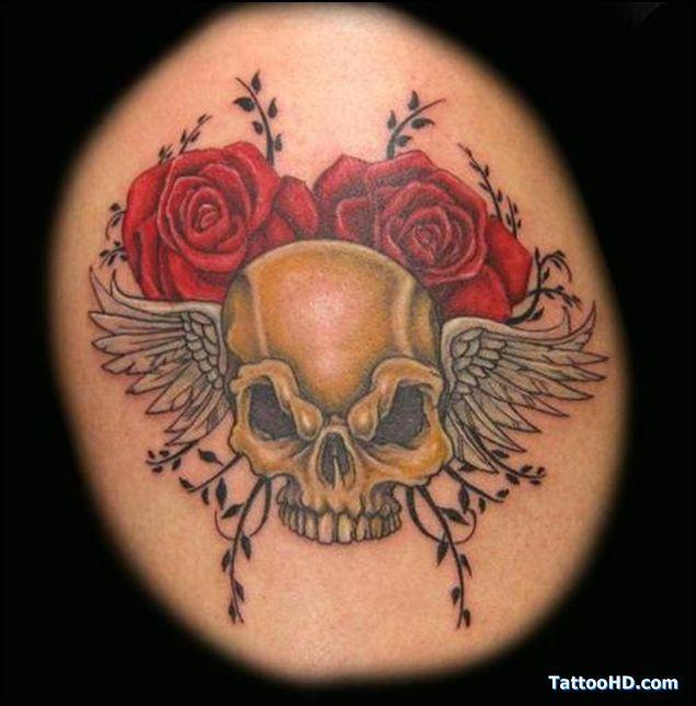 Randy Orton Skull Tattoos | randy orton cranio tatuagens ...