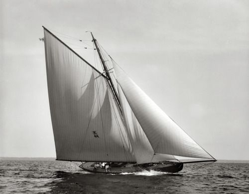 interest it. — themanlyarts: Commodore H.M. Gillig's racing sloop...